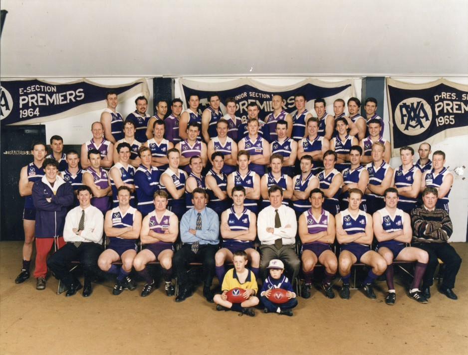 1997 Senior and Reserve Runners Up (C Section)