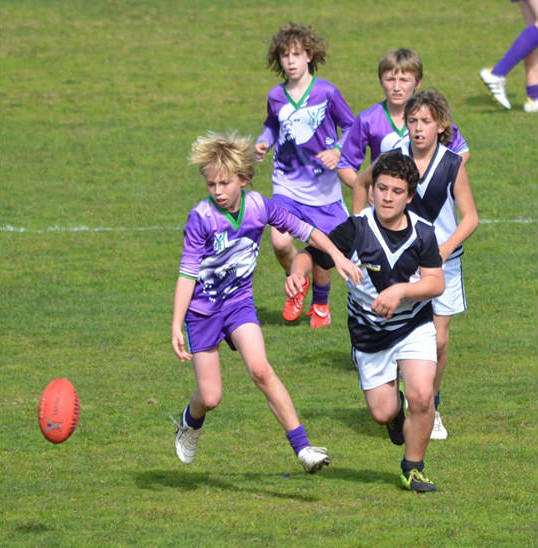 2012 Grand Final – Will at 11 years