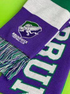 Brunswick Football Club scarf